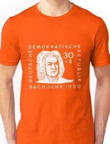 Johann Sebastian Bach (Bachjahr 1950) Unisex T-Shirt