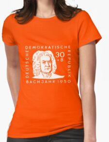 Johann Sebastian Bach (Bachjahr 1950) Womens Fitted T-Shirt