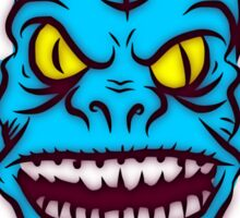 Ugly Troll Monster Zombie Themed Graphic Sticker