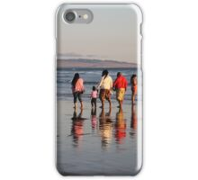 Afternoon stroll at Pismo Beach iPhone Case/Skin