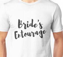 Bride's Entourage Bachelorette Party Gifts Unisex T-Shirt