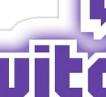 Inverted twitch Sticker
