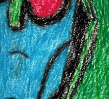 Colored Transformers Animated Blitzwing Sticker