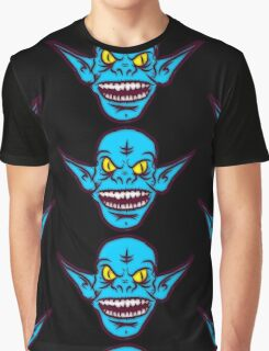 Ugly Troll Monster Zombie Themed Graphic Graphic T-Shirt
