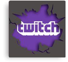 Twitch Smash Canvas Print