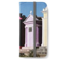 Guatemalan Cemetery Crypts iPhone Wallet/Case/Skin