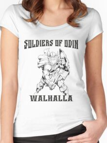 Soldiers of Odin  Women's Fitted Scoop T-Shirt