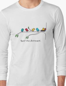Spot the Introvert | Introvert funny Long Sleeve T-Shirt