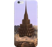 Tower in the Sand iPhone Case/Skin