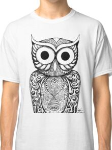 Patterned Owl Classic T-Shirt