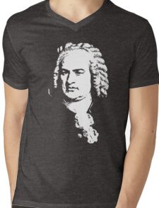 Johann Sebastian Bach Mens V-Neck T-Shirt