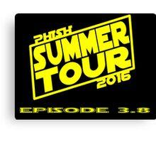 Phish Summer Tour 2016 Canvas Print