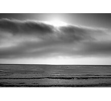 Carmel Seascape I BW Photographic Print