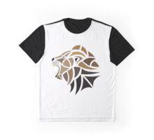 Lion Roaring Graphic T-Shirt