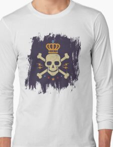 Skull and crown Long Sleeve T-Shirt