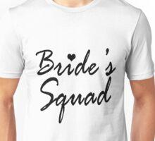 Bride's Squad Bachelorette Party Gifts Unisex T-Shirt