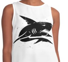 black shark Contrast Tank