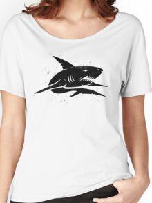 black shark Women's Relaxed Fit T-Shirt