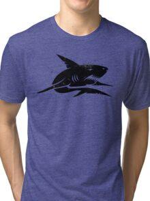 black shark Tri-blend T-Shirt