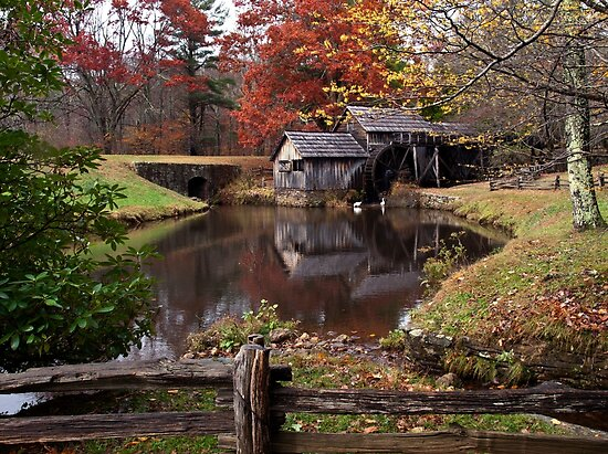 Mabry Mill by Kathy Weaver