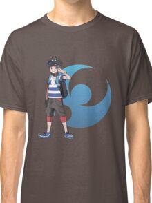 Pokémon Sun and Pokémon Moon - Trainer (Male) w/ Moon Logo Classic T-Shirt