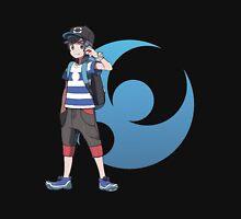 Pokémon Sun and Pokémon Moon - Trainer (Male) w/ Moon Logo Unisex T-Shirt