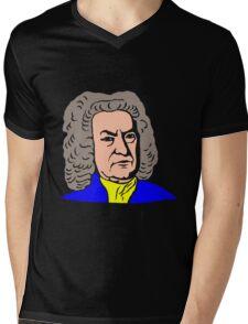 JOHANN SEBASTIAN BACH-3 Mens V-Neck T-Shirt