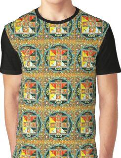 Five diety mandala Graphic T-Shirt