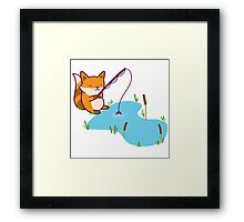 Catch & Release Fox Framed Print