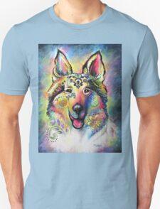 Boho Collie Unisex T-Shirt