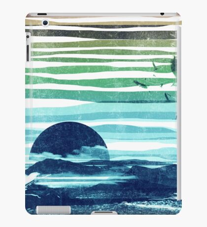 sea landscape iPad Case/Skin
