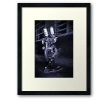 Old Microscope Framed Print