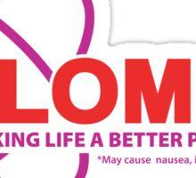 """Plomox"" Antiarrhythmic Medication Logo - As seen on ""Scrubs"" Sticker"