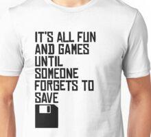 Saving Files Saves Lives Unisex T-Shirt