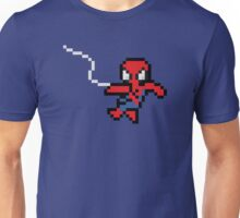 8-Bit Swinging Spider-Man Unisex T-Shirt