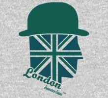 London Gentleman by Francisco Evans ™ Kids Tee