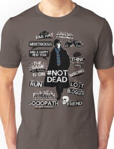 Sherlock quotes Unisex T-Shirt