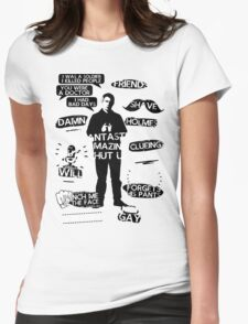 John Watson Quotes Womens Fitted T-Shirt