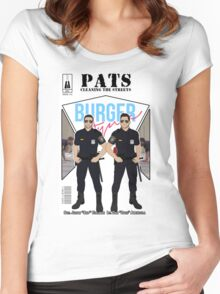 PATS Cleaning the Streets Women's Fitted Scoop T-Shirt