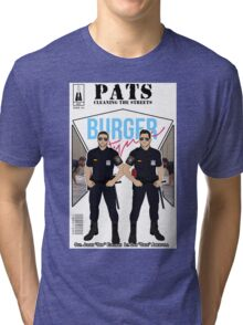 PATS Cleaning the Streets Tri-blend T-Shirt