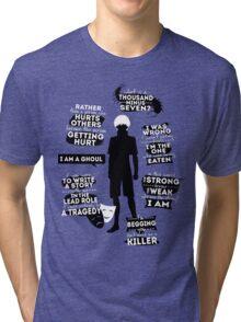 Kaneki Ken Quotes Tri-blend T-Shirt