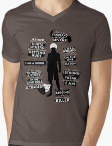 Kaneki Ken Quotes Mens V-Neck T-Shirt