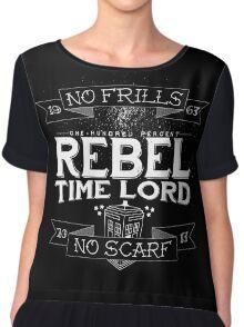 Rebel Time Lord Chiffon Top