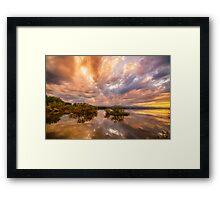 Lake OF Dreams Framed Print