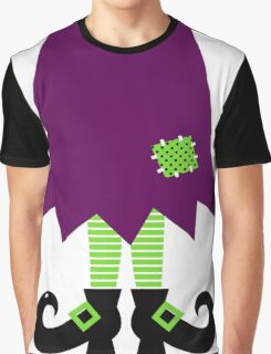 Vector - Stylized retro Witch legs Graphic T-Shirt