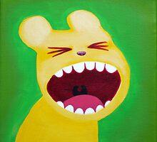 Yellow bear by NinaBric