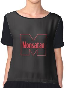 Monsatan (Red) Chiffon Top