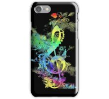 a key to hapiness iPhone Case/Skin
