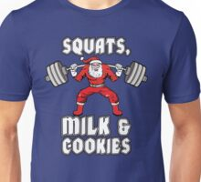 Squats, Milk and Cookies Unisex T-Shirt