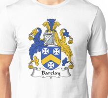 Barclay Coat of Arms / Barclay Family Crest Unisex T-Shirt